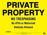 Posted Private Property